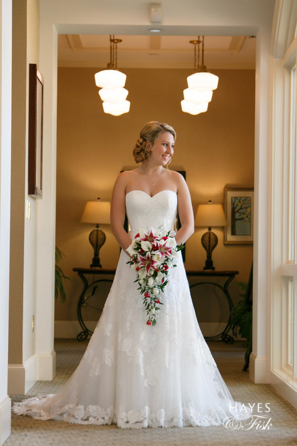 It's all about bridal portraits today, and we sure do love this one of Logan from her big day!