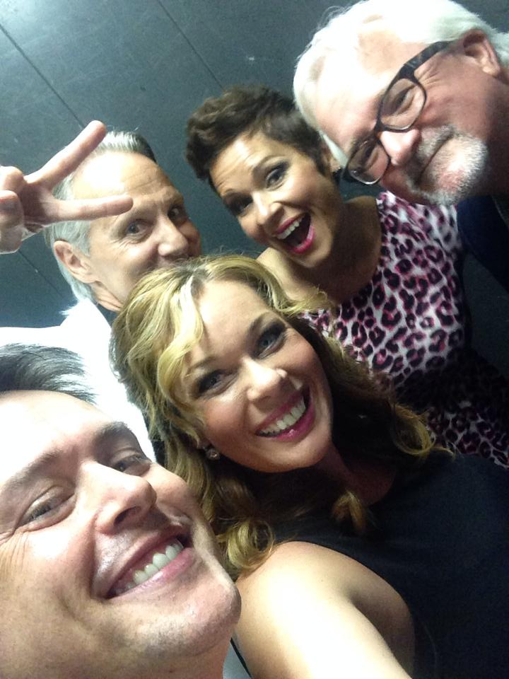 Elevator group selfie!!!