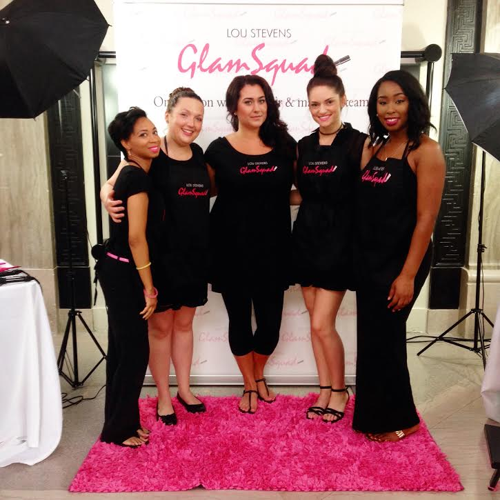 Our wonderful stylists who worked at The Greater Virginia Bridal Show