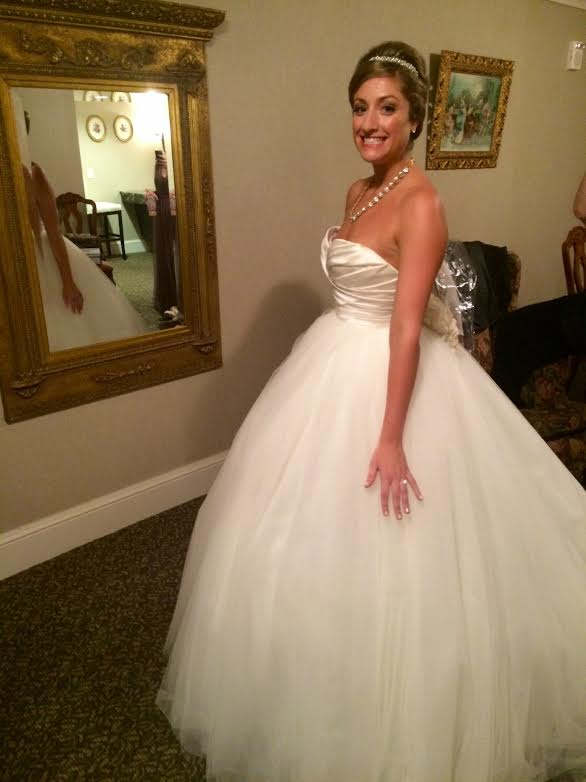 Emily looks so stunning in her princess gown!