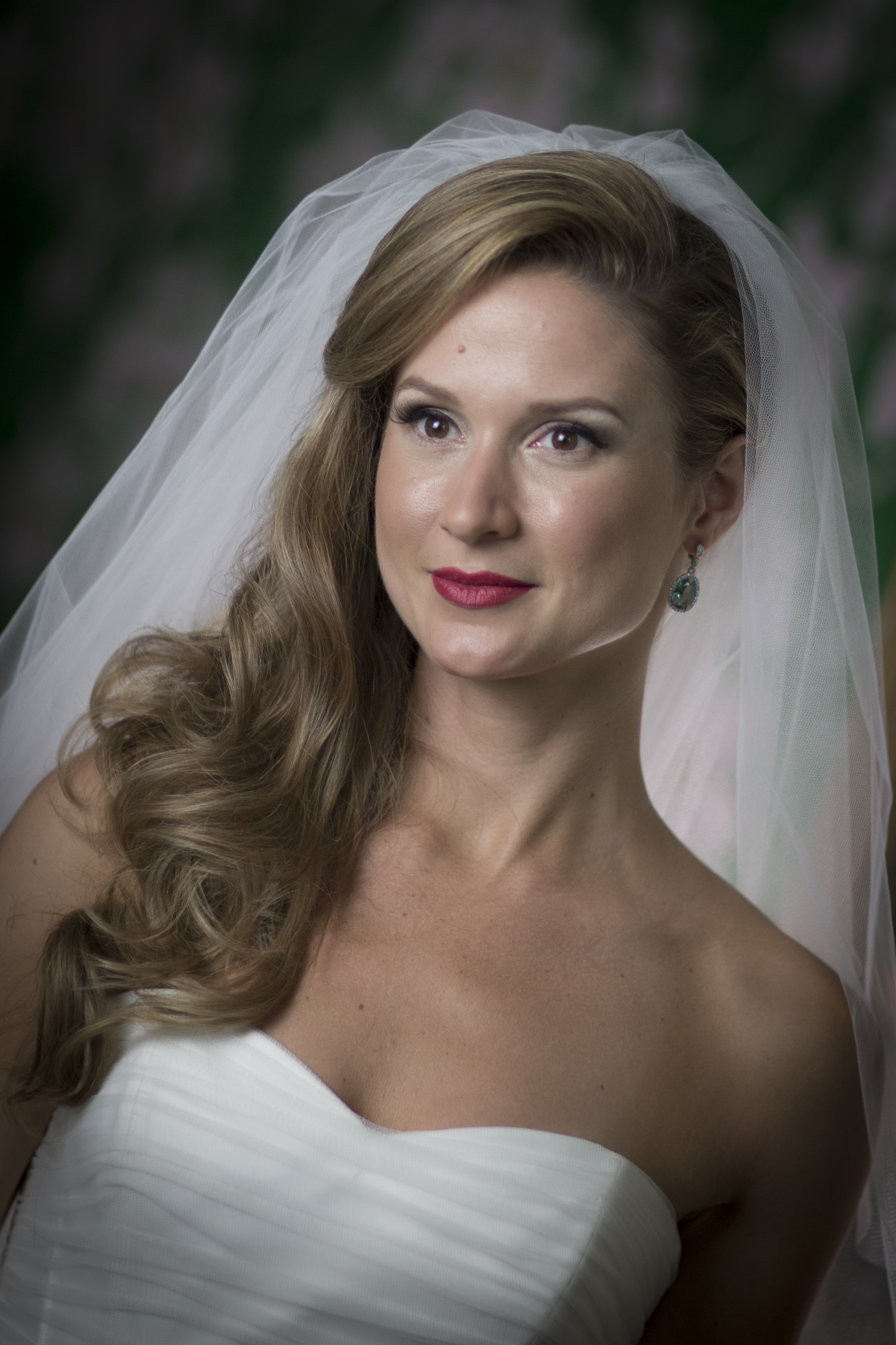 Dewey bridal makeup