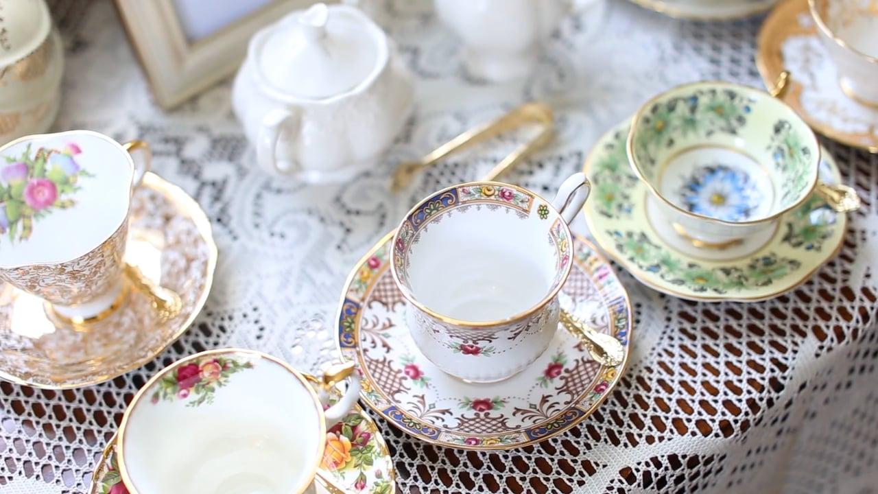 Gorgeous china set