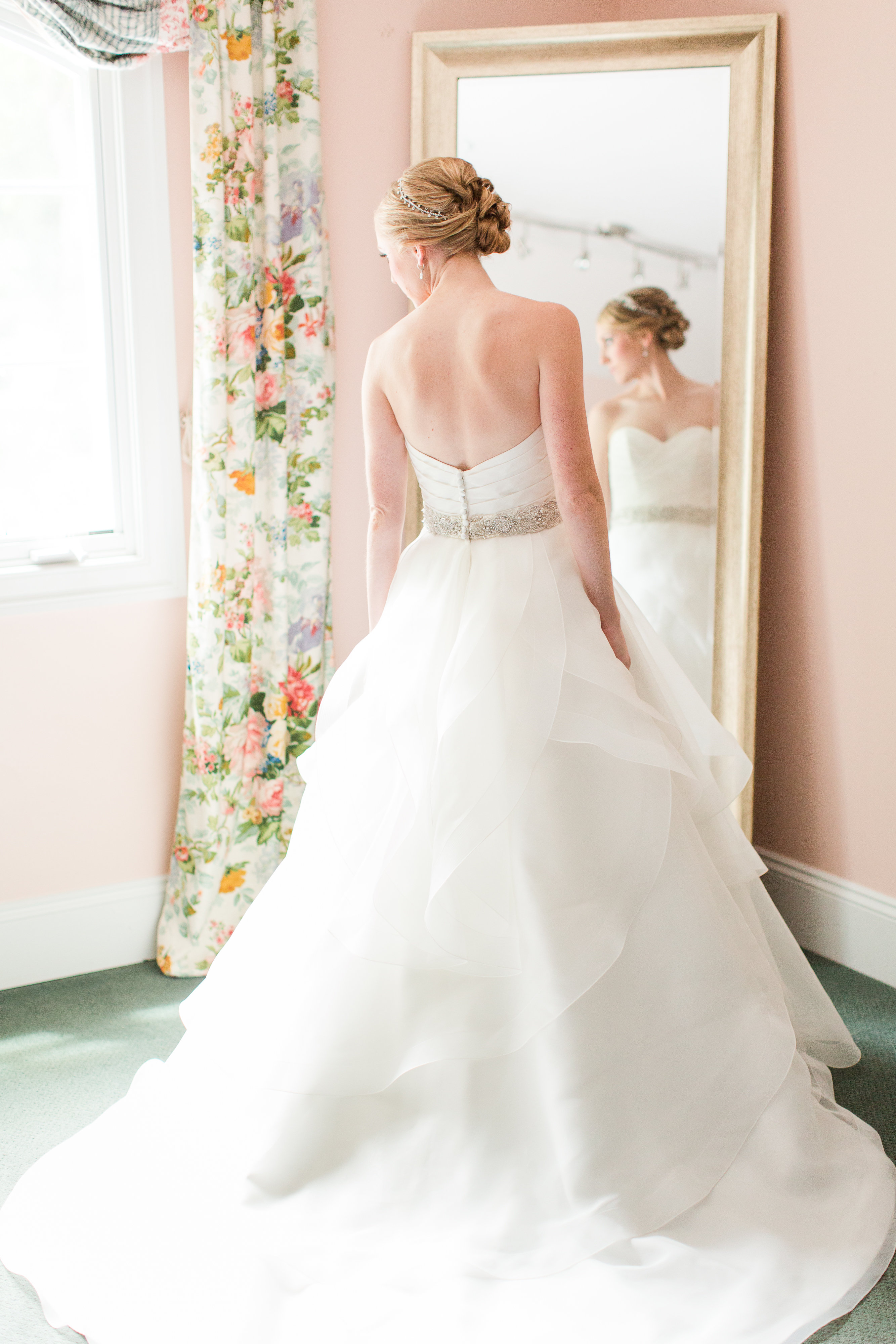 """All dressed and ready to say """"I do!"""""""