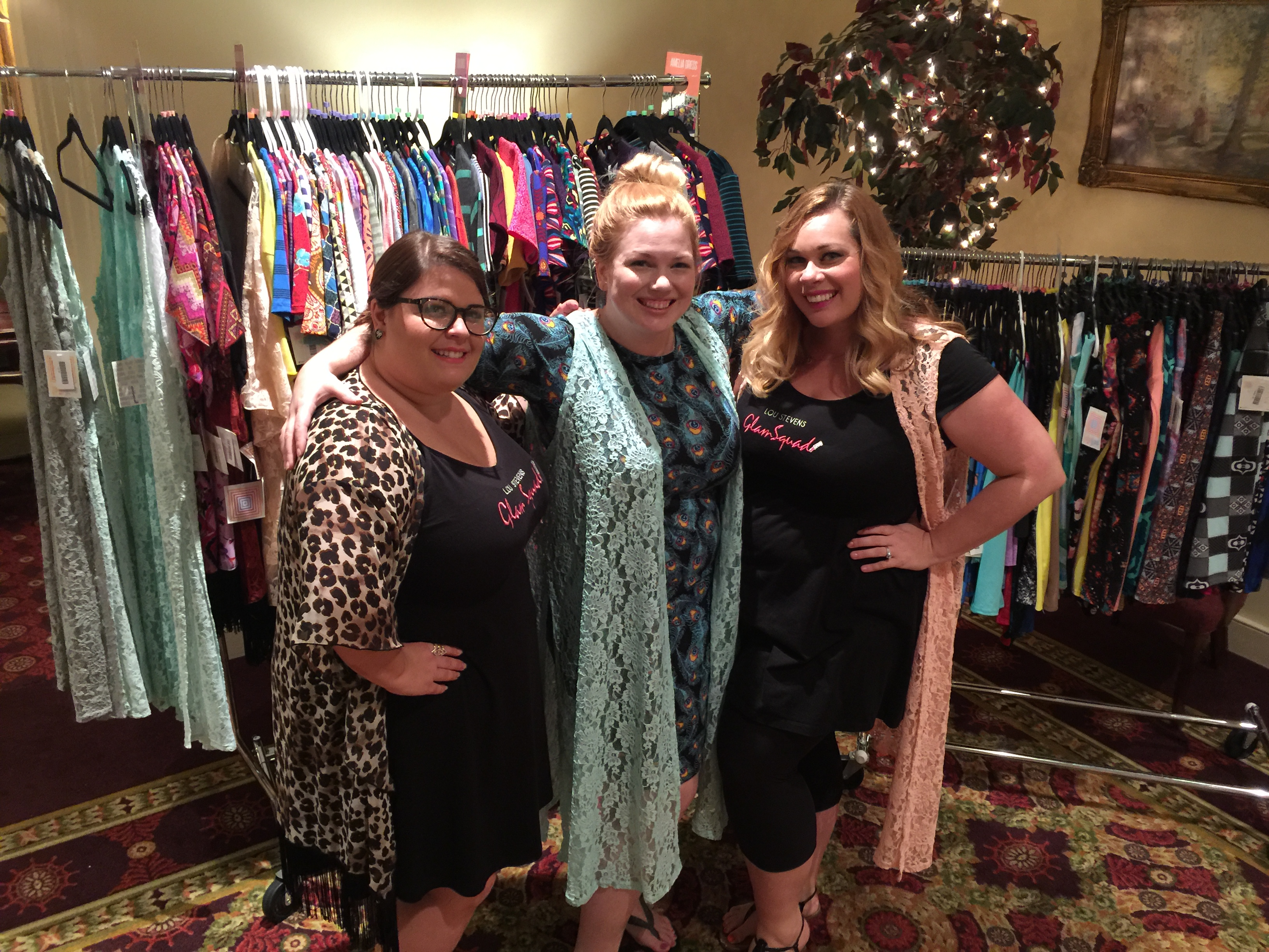 Last but certainly not least, Amanda and I most definitely purchased some Lula Roe items!