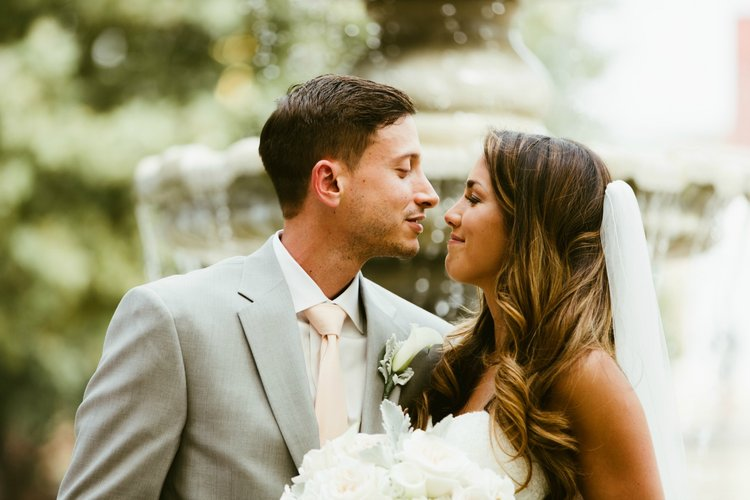 How cute are these newlyweds?!