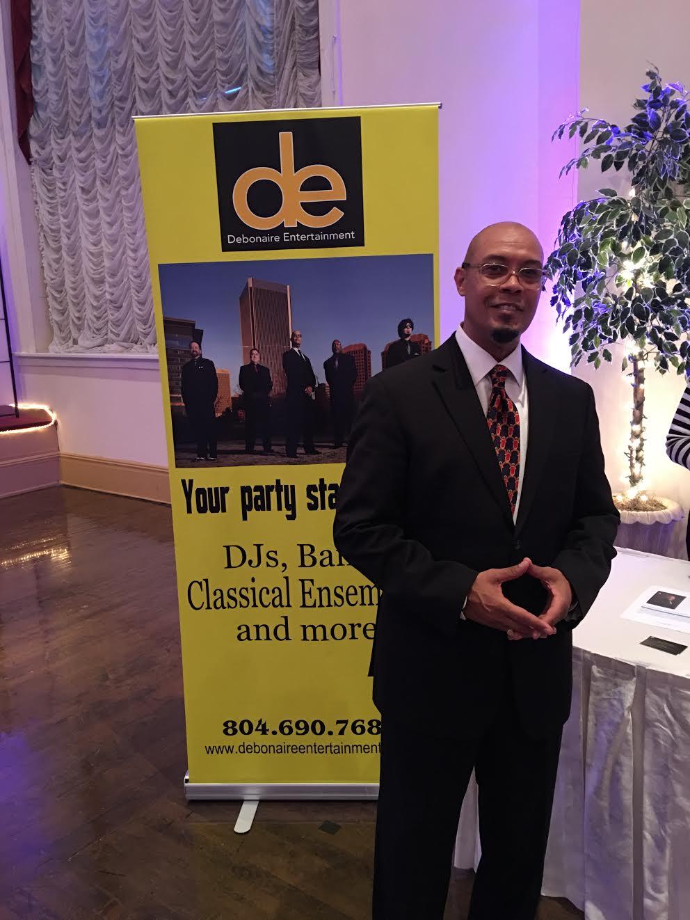 Eric owner of Debonaire Entertainment look so... well... debonaire!